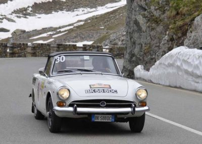 Sterpone-Lorenzoni su Sumbeam Alpine