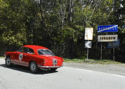 Rosazza-Rosazza su Alfa Romeo Giulietta sprint